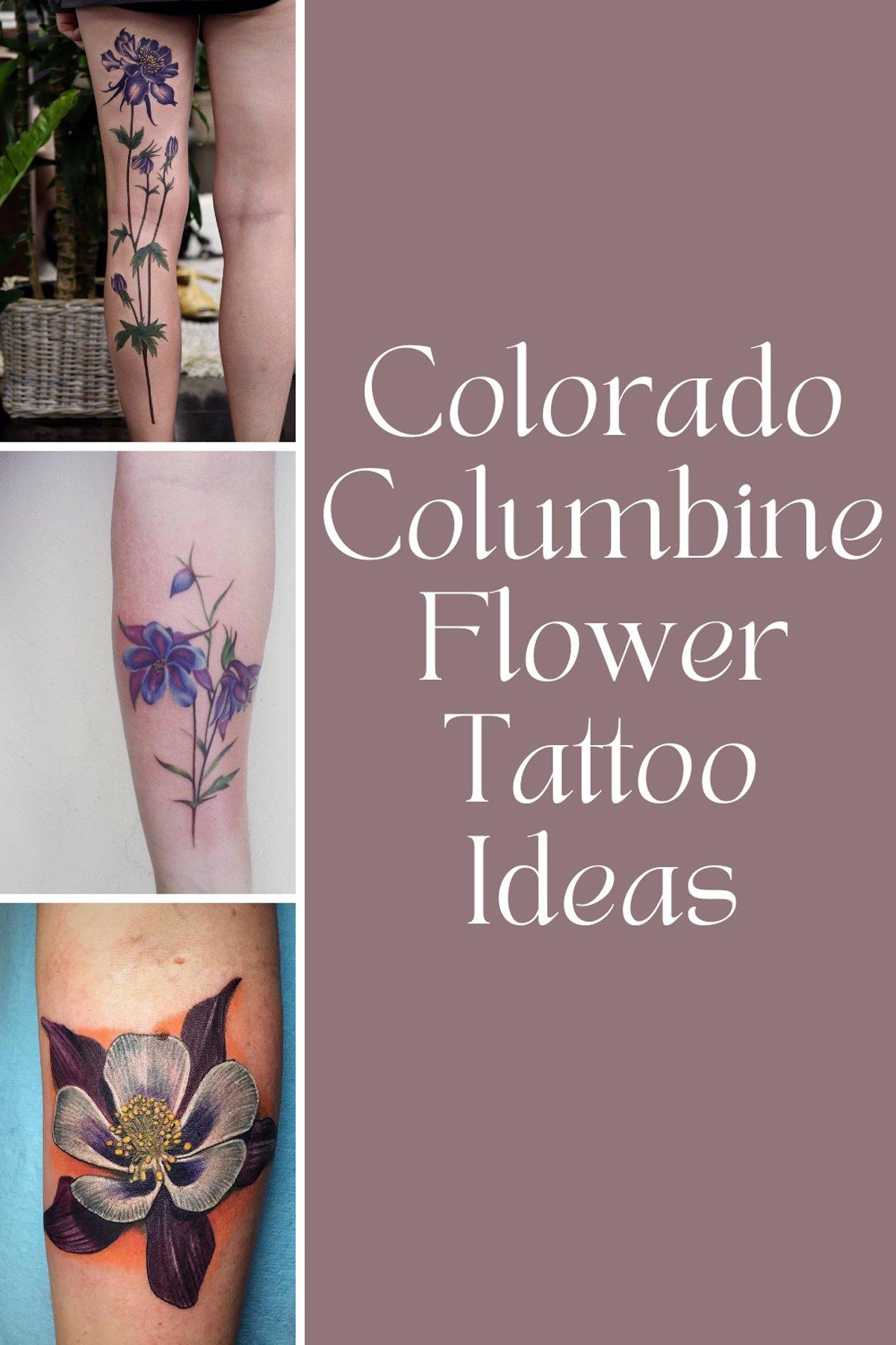 Colorado Flower Tattoo Ideas