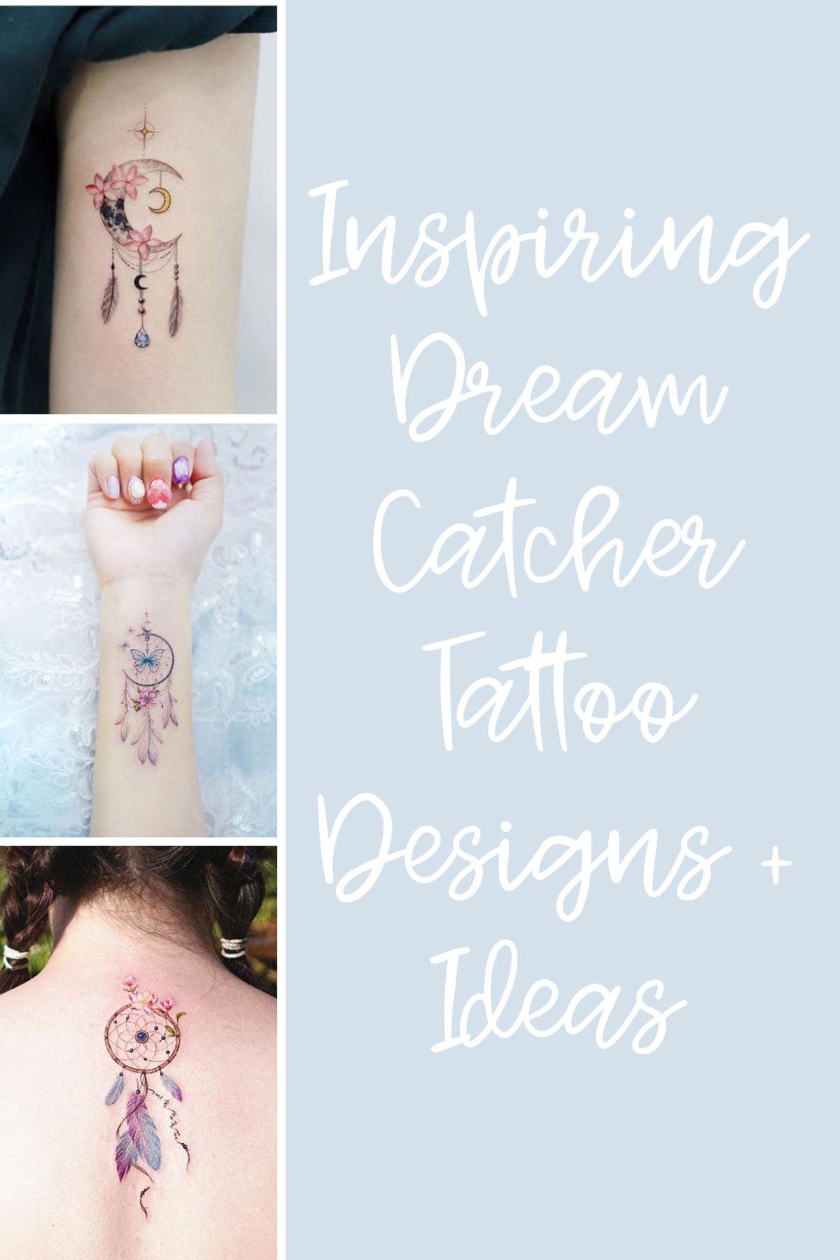 Dream Catcher Tattoo Designs