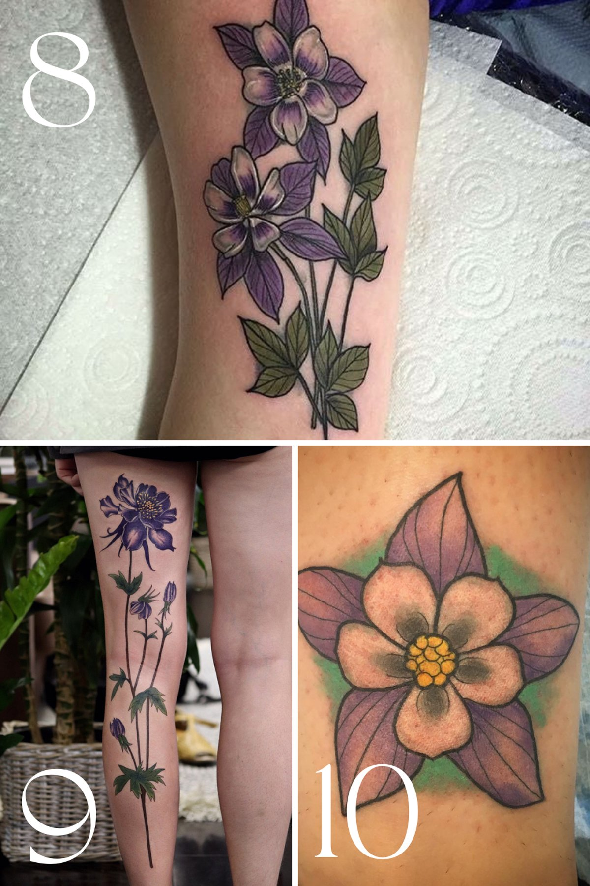 Flower tattoos to commemorate tragedy