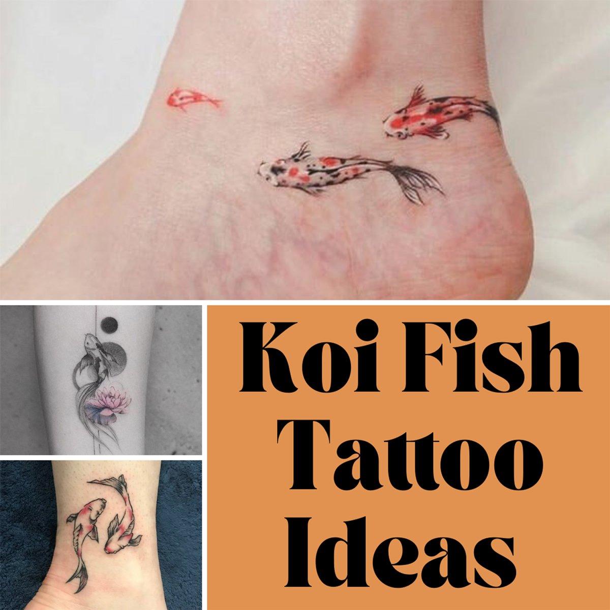 Koi Fish Tattoo Ideas