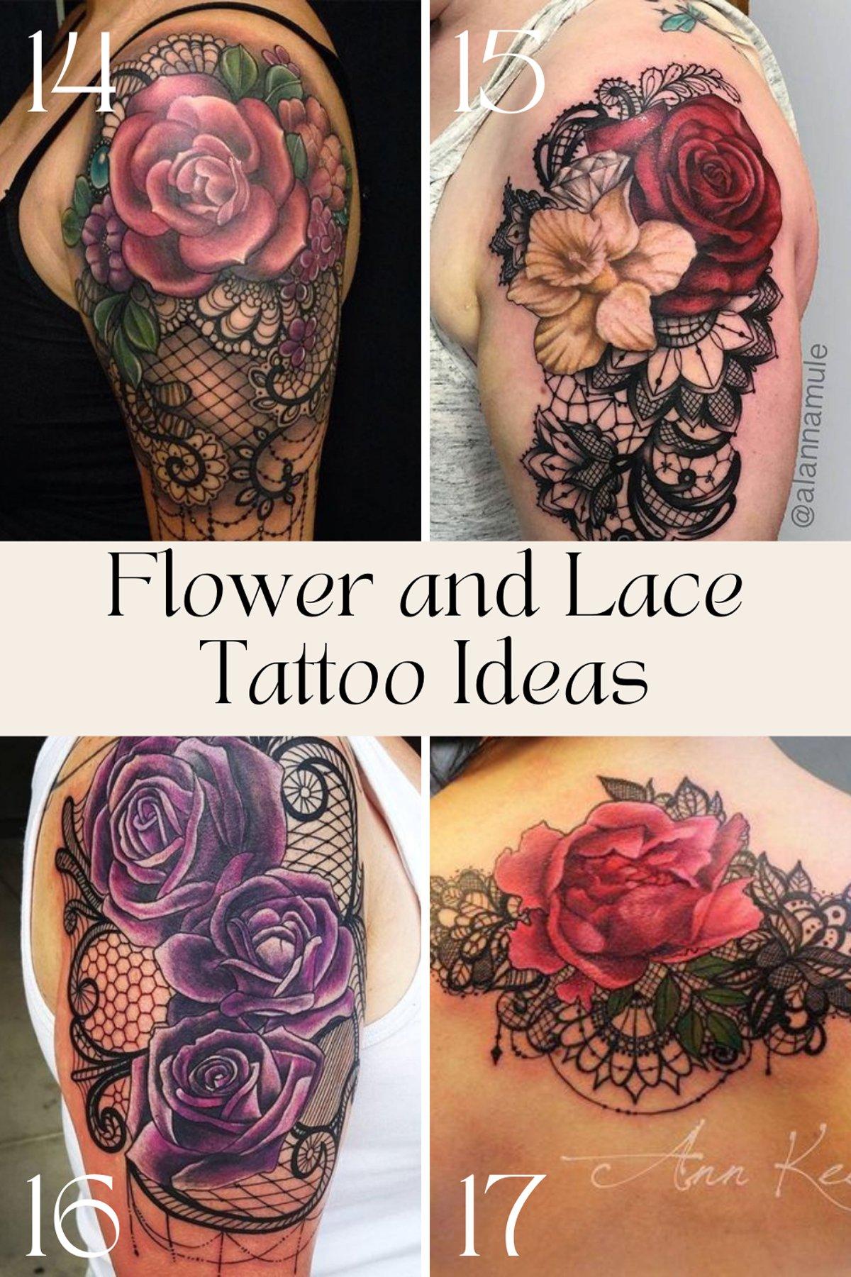 Vintage Lace tattoo Designs