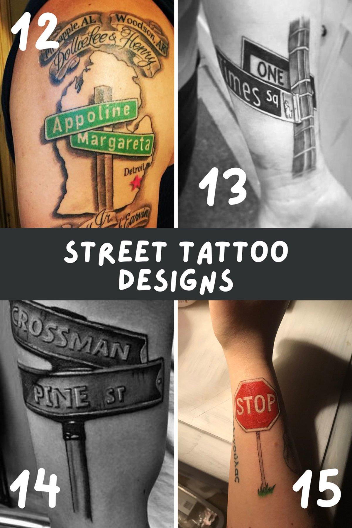 Road Trip Tattoos