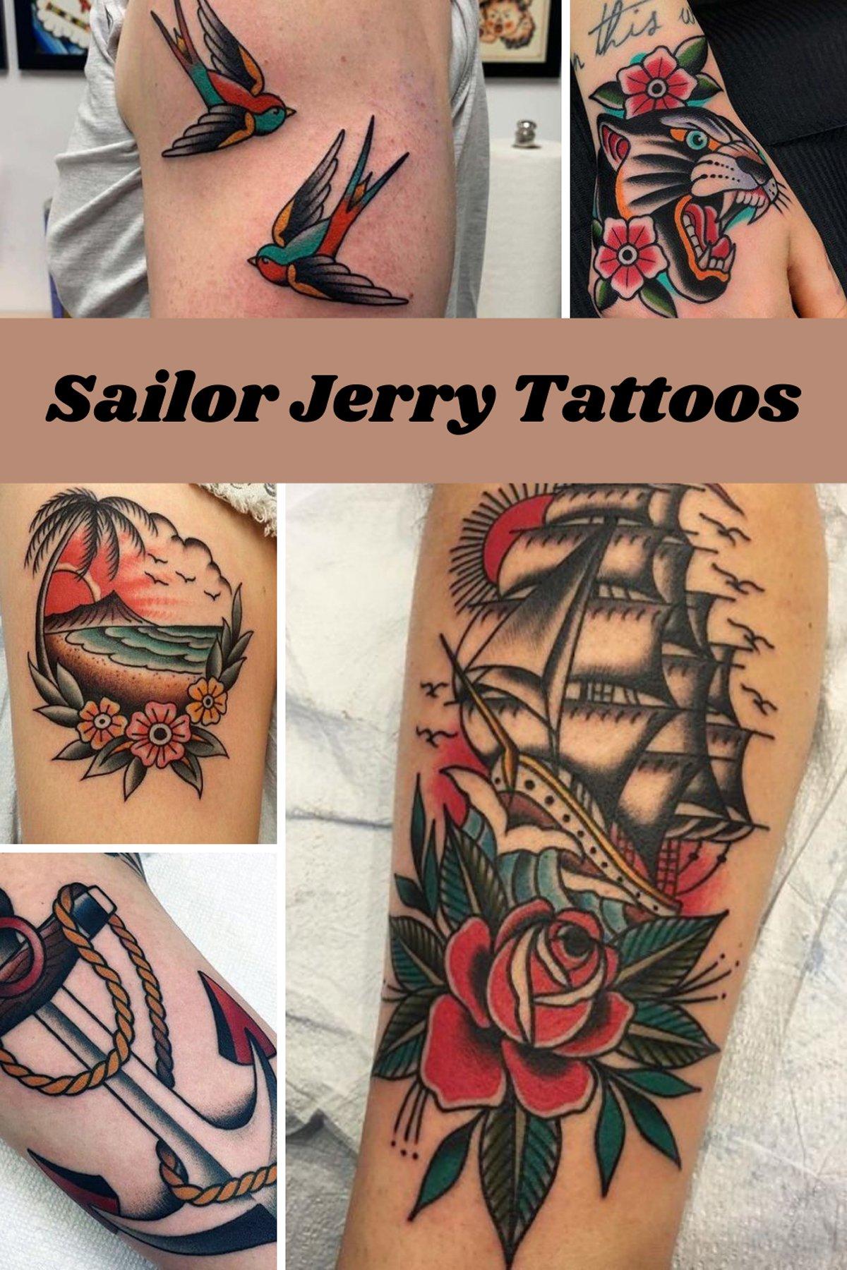 Sailor Jerry Tattoo Designs