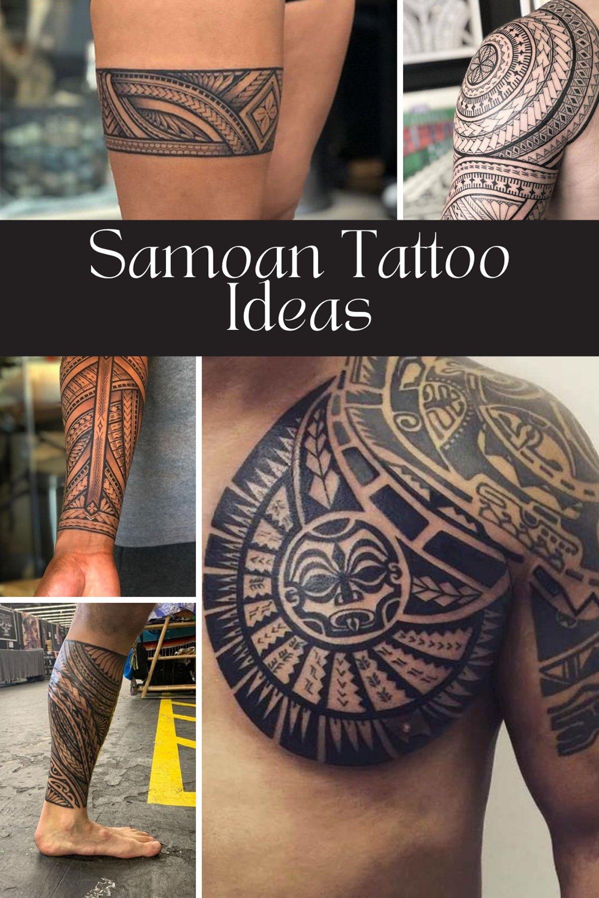 Samoan Tattoo Ideas