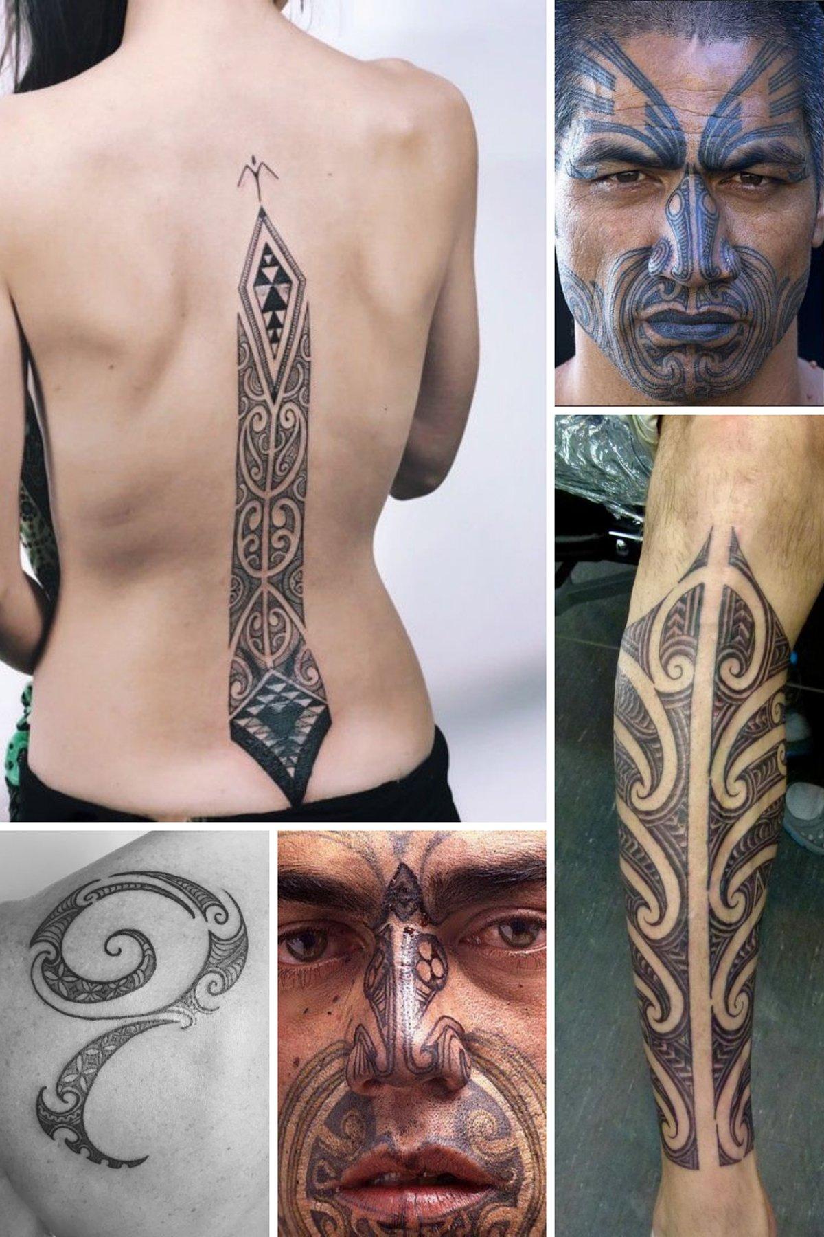 Ta Moko Tattoos