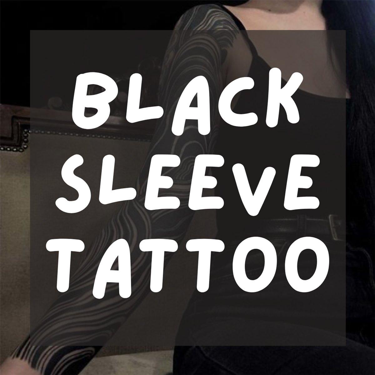 Black Sleeve Tattoo