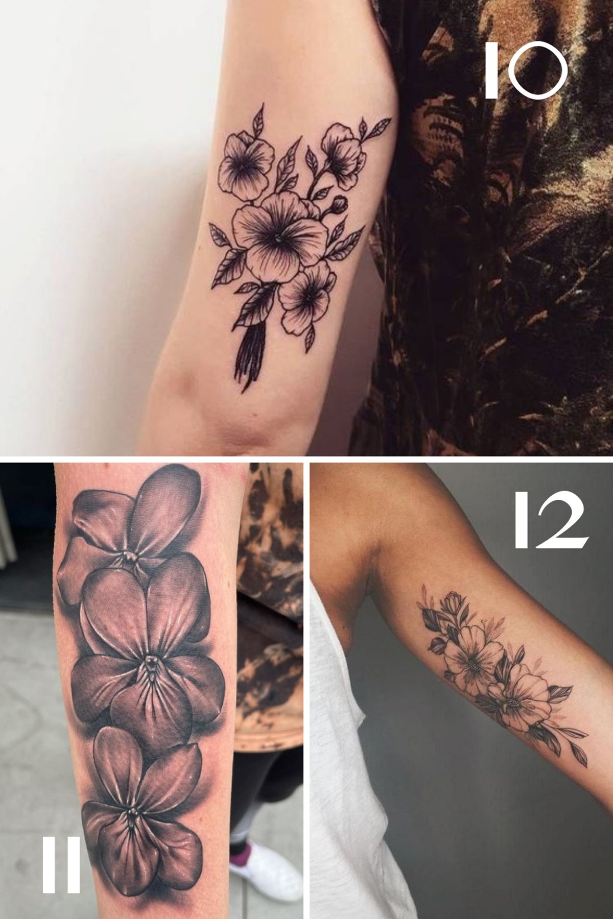 Black and White Violet Ink Inspiration
