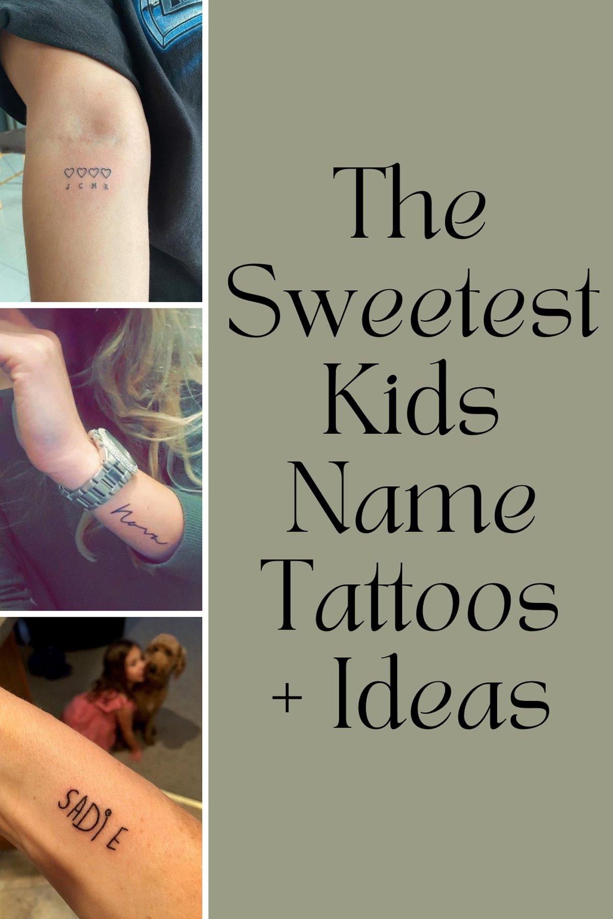Kids Name Tattoos
