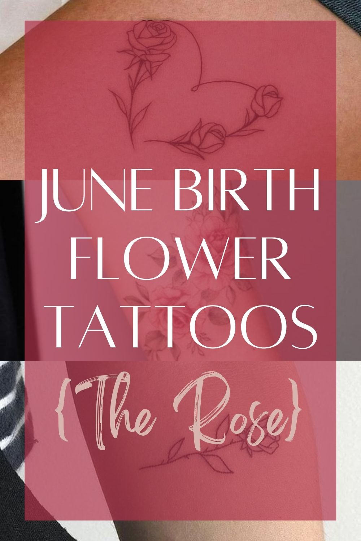 June Birth Tattoo