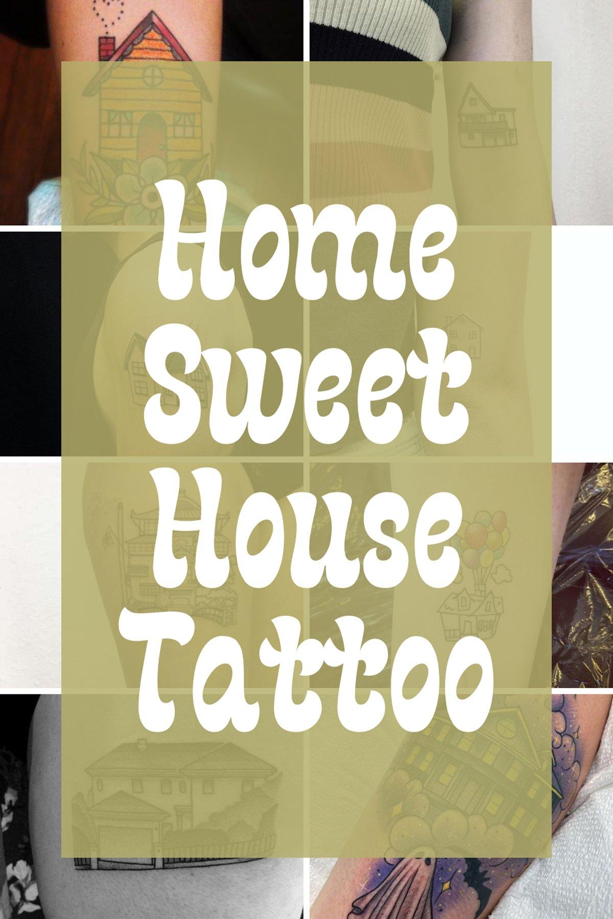 Childhood House Tattoo