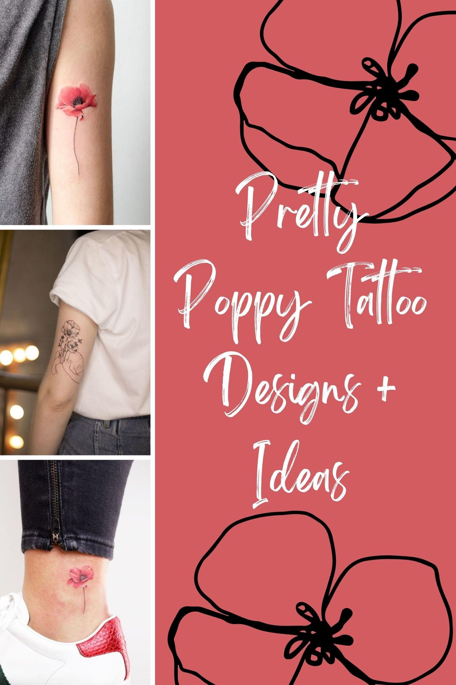 Pink Flower Tattoo Ideas