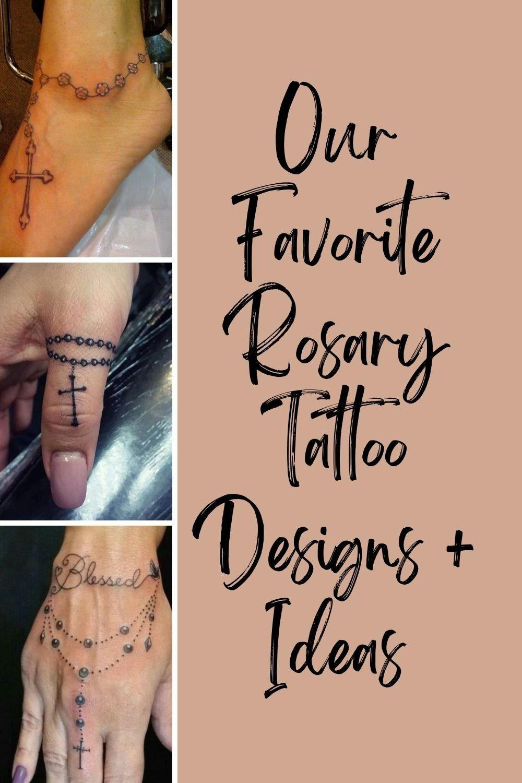 Rosary Tattoo Ideas