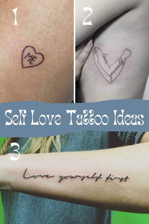 Unique Self Love Tattoo