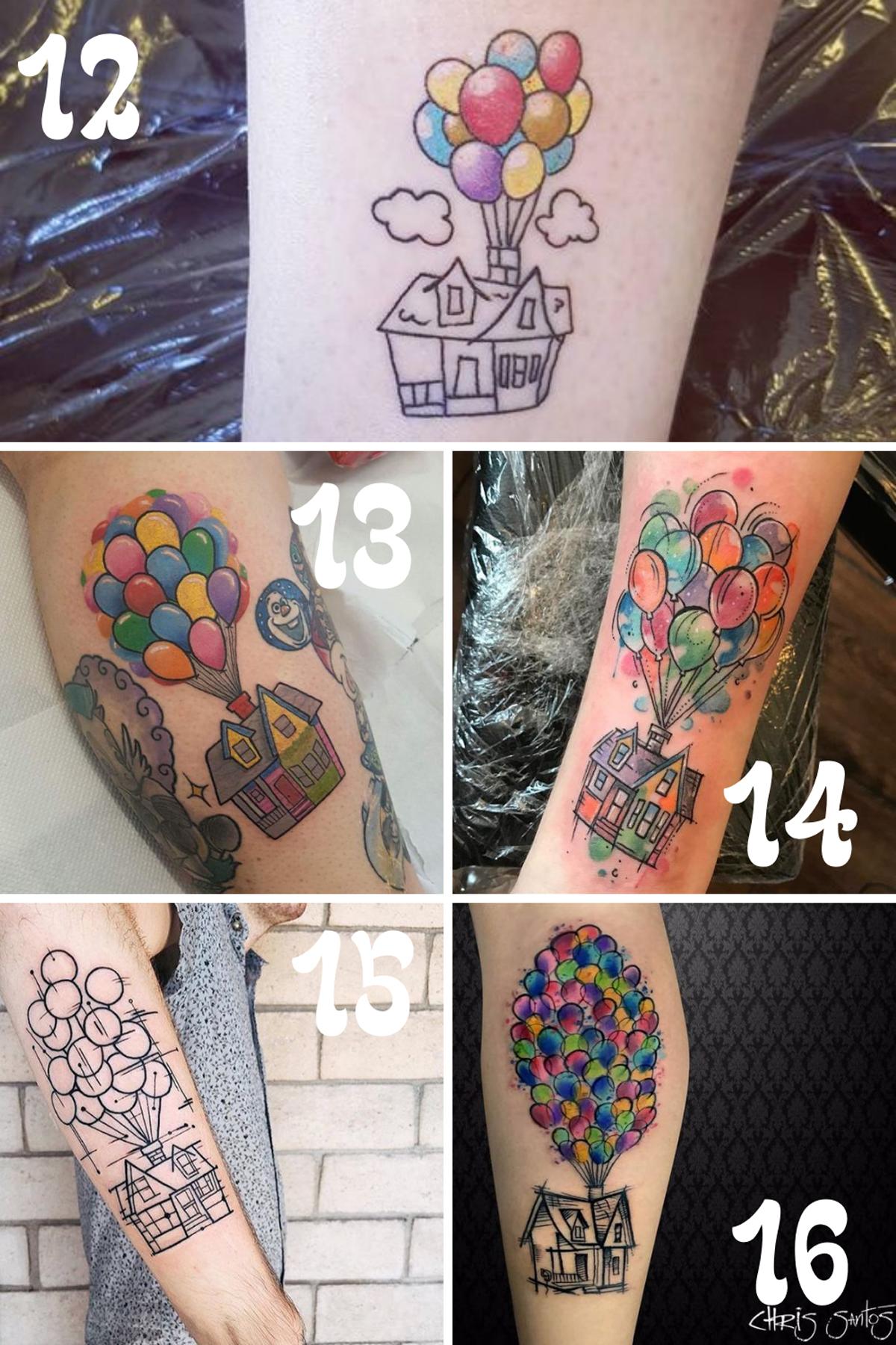 Tattoos Of Disney Up Home Design
