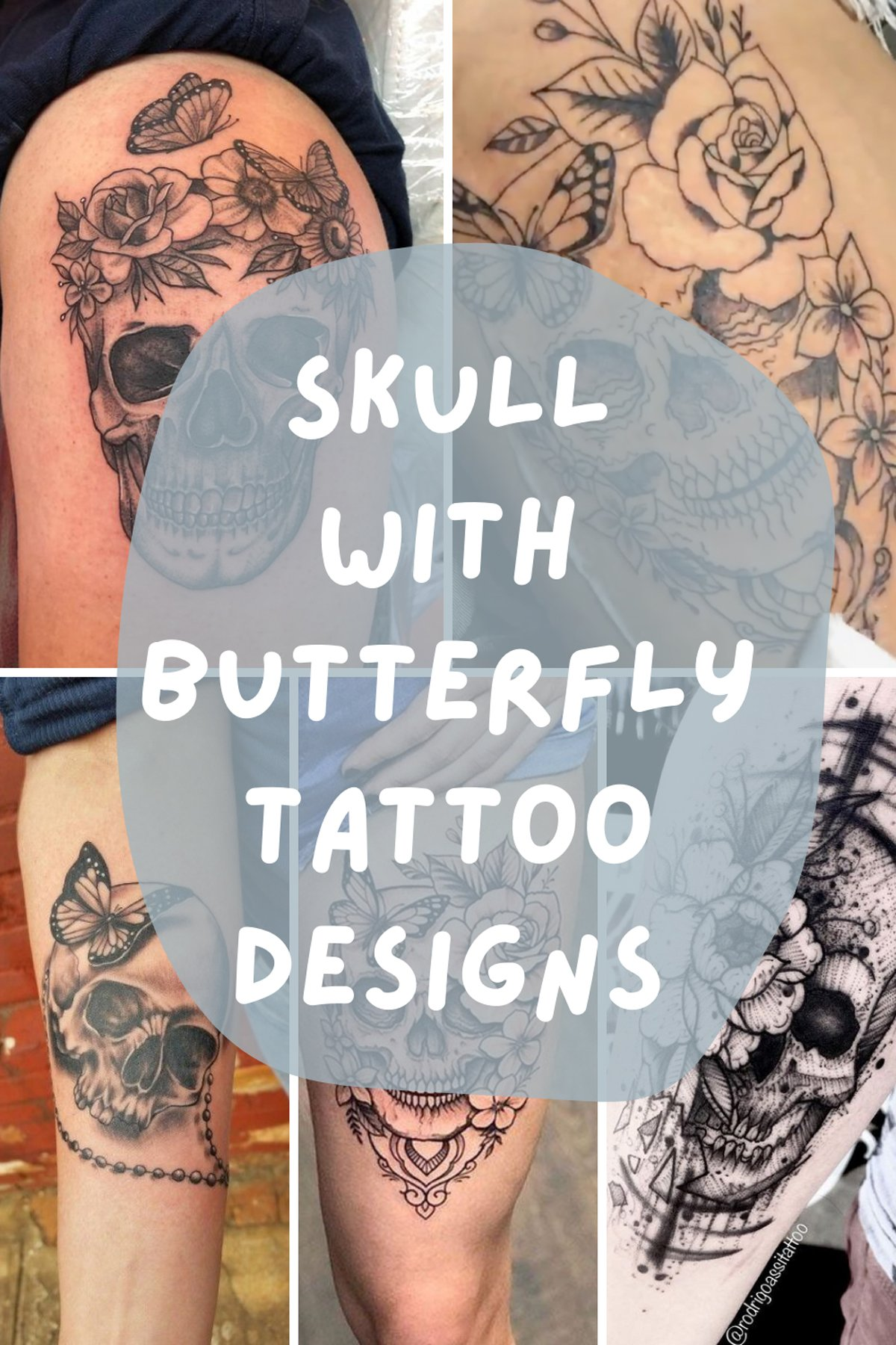 Butterfly Tattoos For Death
