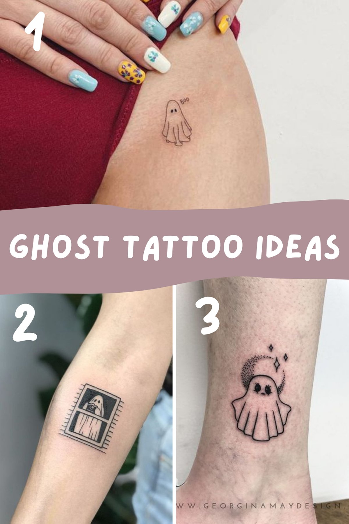 Ghost Tattoo Meaning