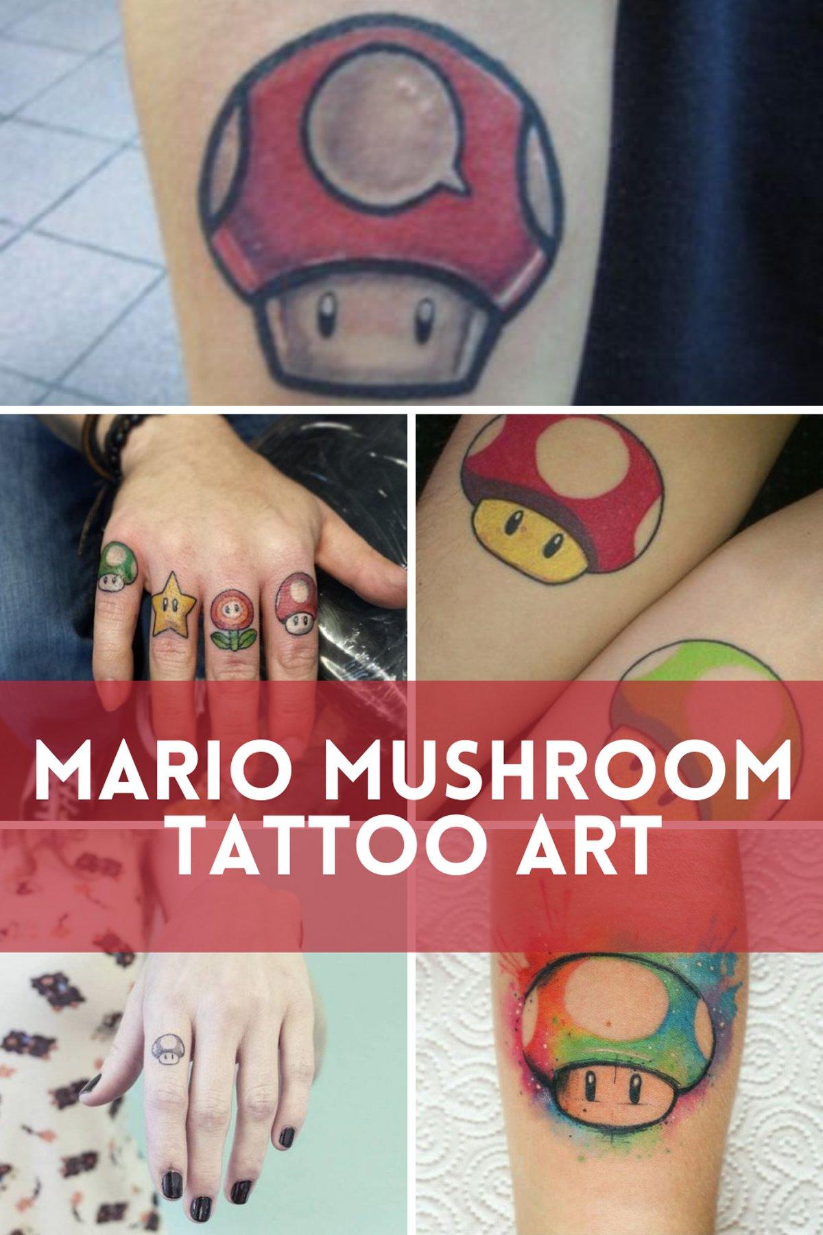 Mario Tattoos