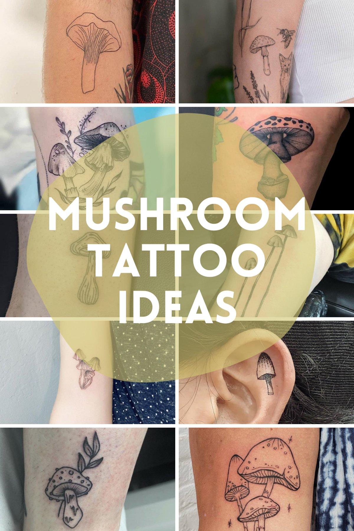 Mushroom Tattoo Ideas