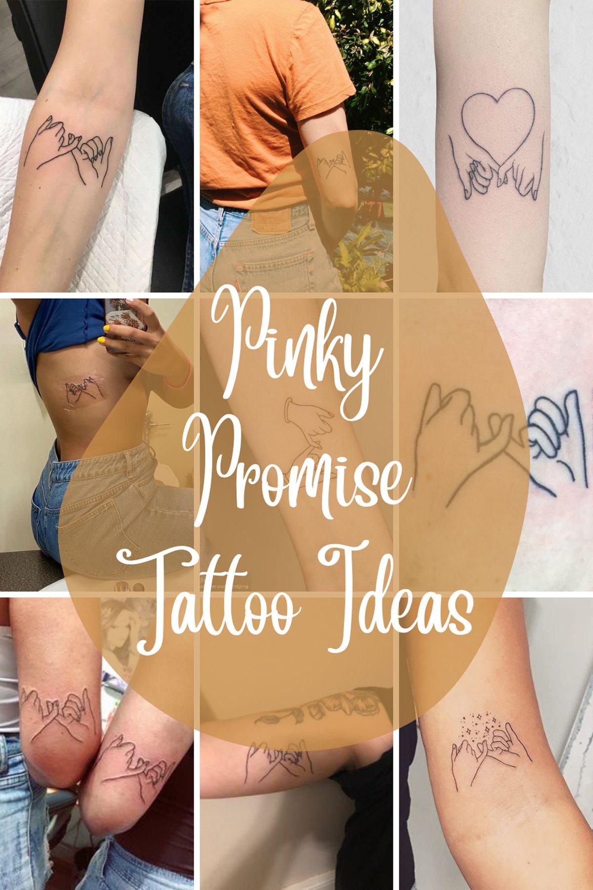 Pinky Promise Tattoo Ideas