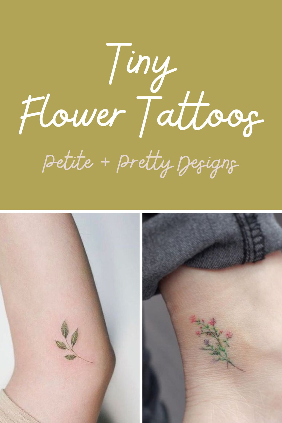Small Pretty Floral Designs