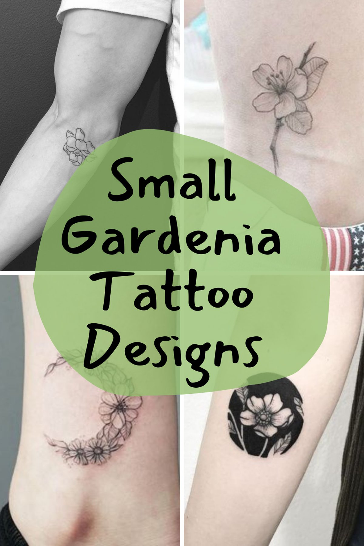 Small Flower Tattoos