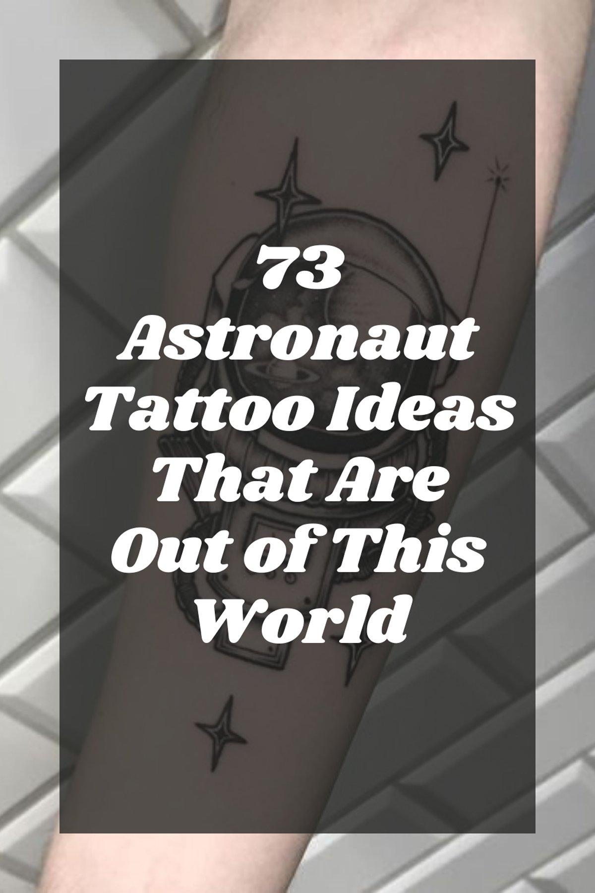 Spaceman Tattoo