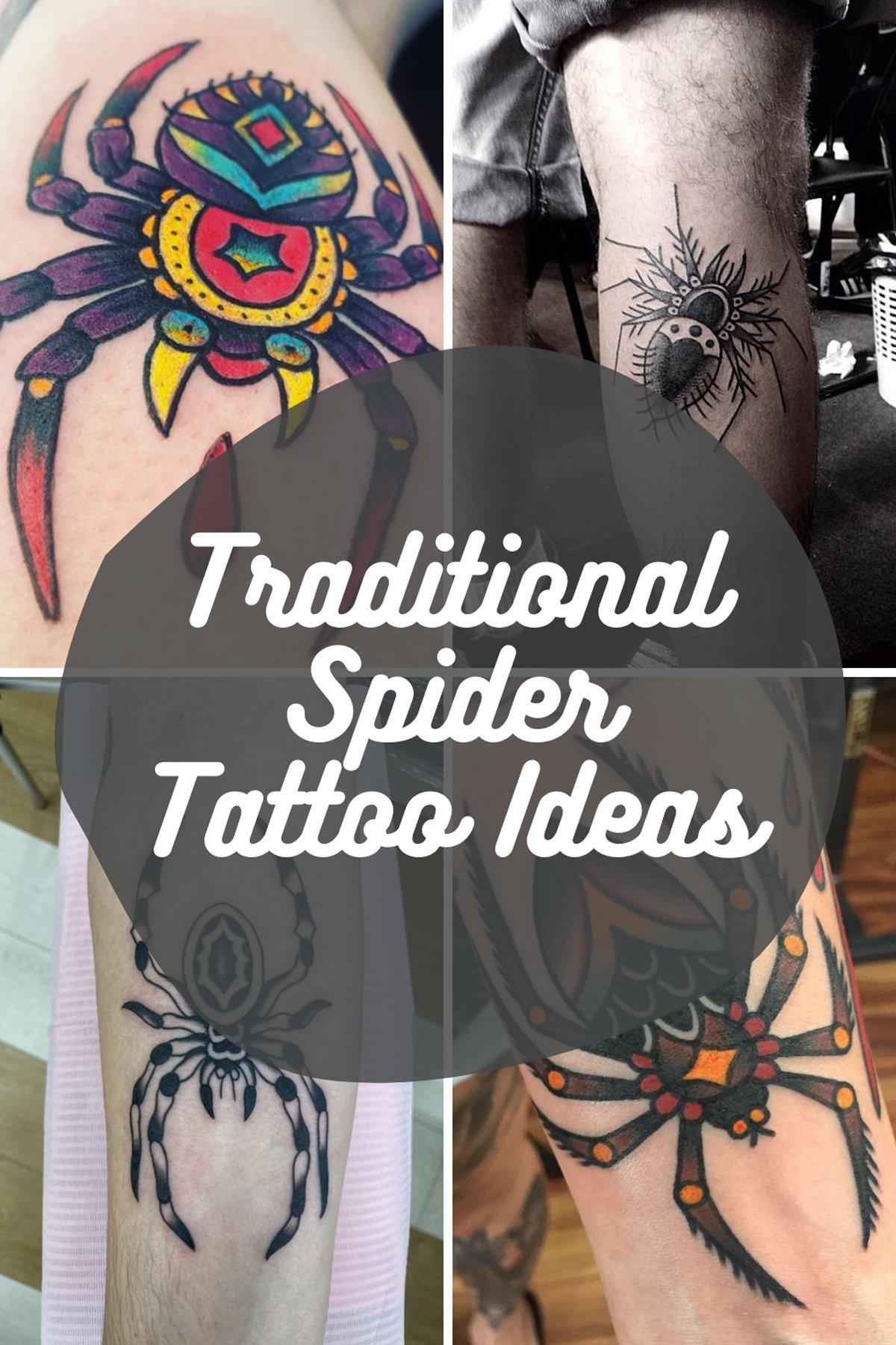 Traditional Tattoos of Araneae