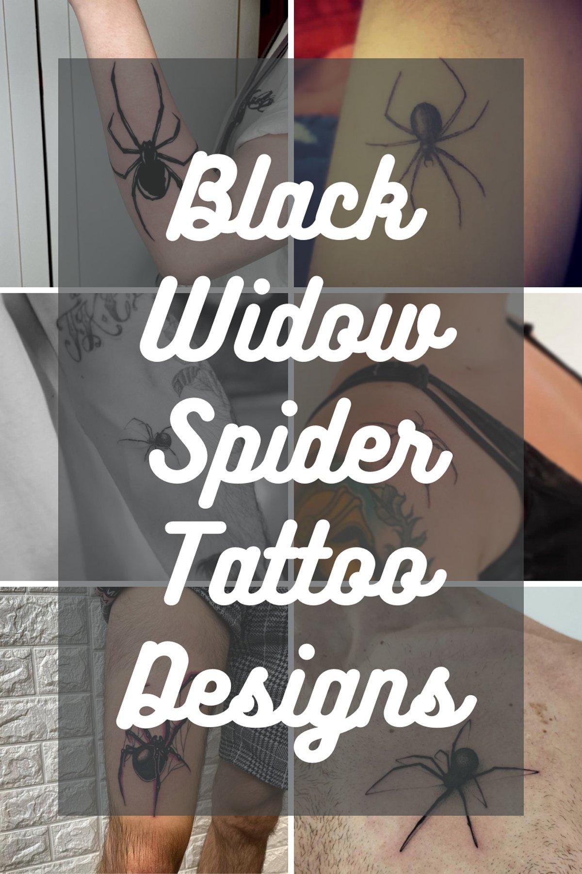 Black Widow Spider Ink