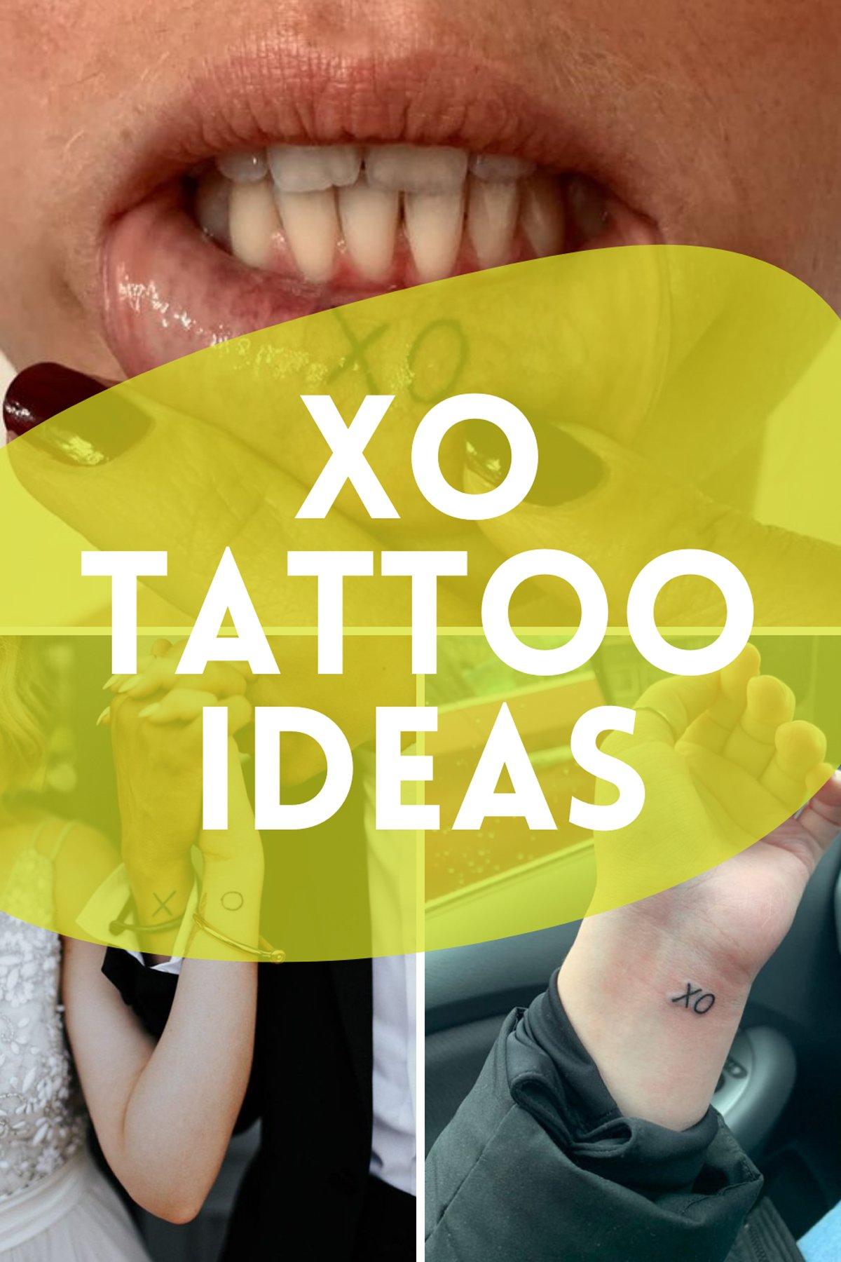 XO Tattoo Ideas